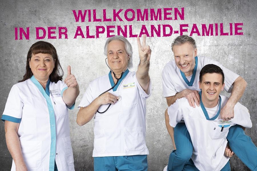 Einarbeitung bei ALPENLAND-Alpenland 2