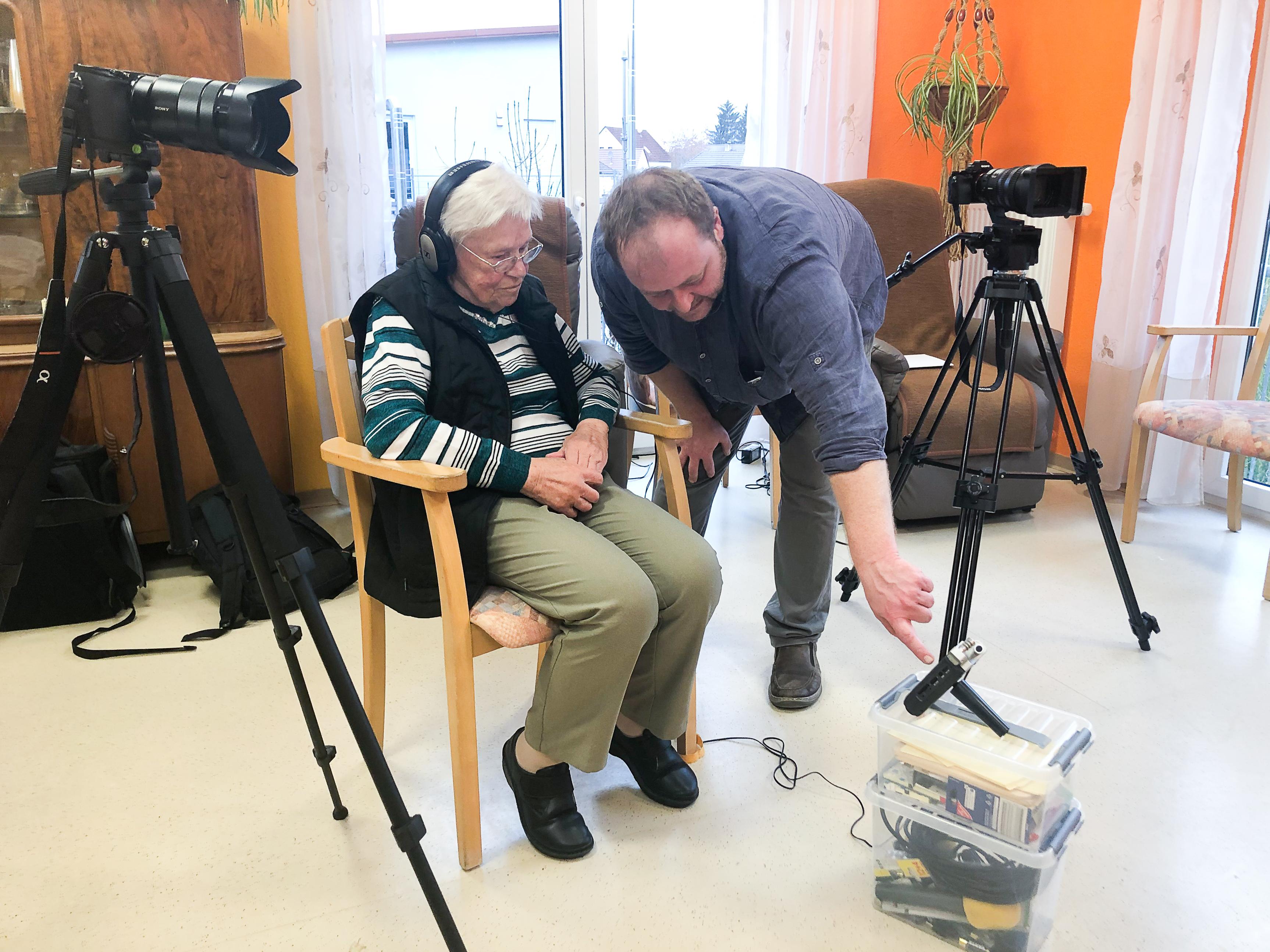 Generationenübergreifendes Filmprojekt-Alpenland 1
